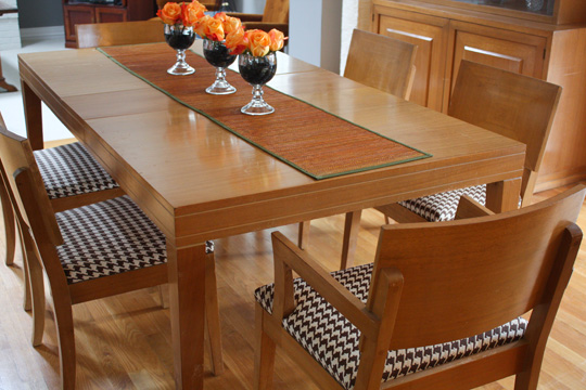 Upholster Dining Chairs