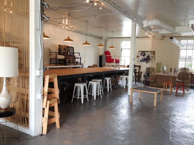 Upholstery Class Studio