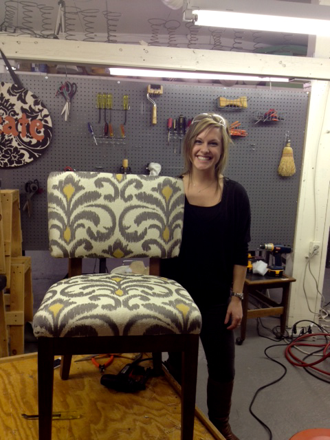 Chair Upholstery Class